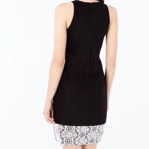 BANANA REPUBLIC Black Short Sleeveless Dress
